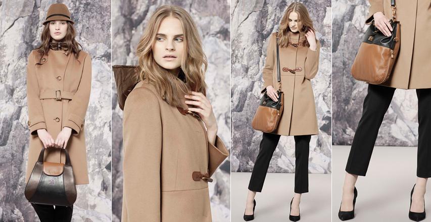 З чим носити бежеве пальто - майстер клас від бренду Cinzia Rocca 064d083e1f260