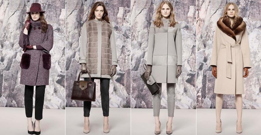 Модні пальто великих розмірів з хутром з колекції Cinzia Rocca 0604f64777fd9