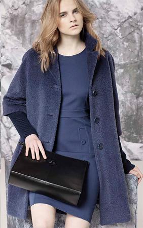 Модне пальто осінь зима 2014 2015 від Cinzia Rocca d8a763b735540