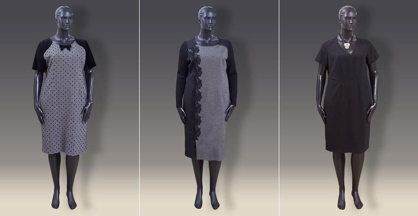 Сукня футляр великих розмірів від брендів Elisa Fanti та Persona by Marina  Rinaldi 8584c00148775