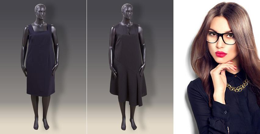 Модні сукні великих розмірів осінь-зима 2016 2017 80079fd69292a