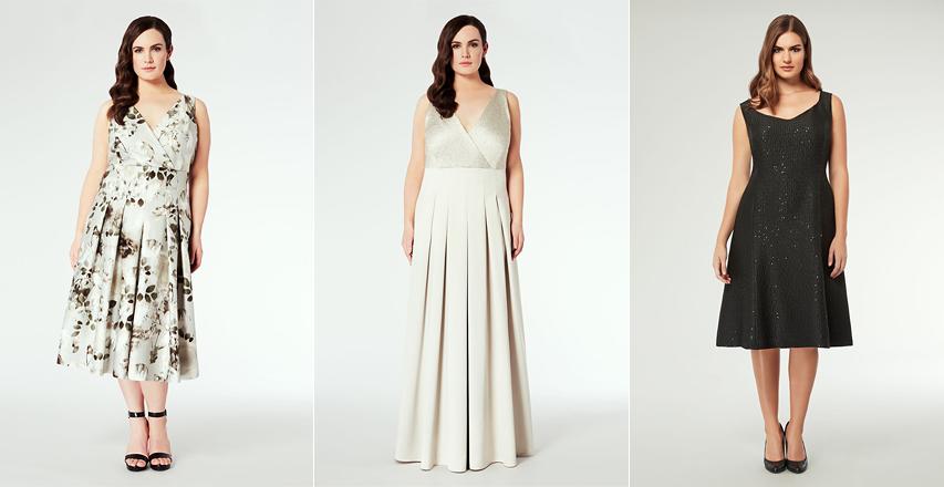 Красиві сукні великих розмірів з пишною спідницею для новорічного вечора b710ea77d8606