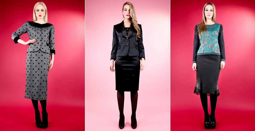 Модні спідниці в офіс від Elisa Fanti з колекції осінь-зима 2014 2015 ee2ff92a08c6d