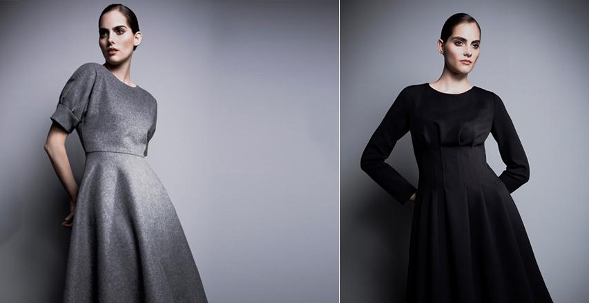 Модні сукні великих розмірів осінь-зима 2014-2015 від Barbara Schwarzer 984c66202e8f8