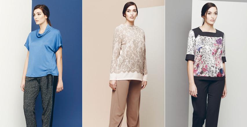 Модні жіночі брюки великих розмірів осінь-зима 2014 2015 від Giorgio Grati 01ab5d1e8759e