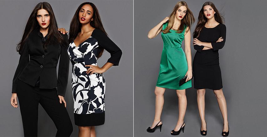 Жіночий одяг великих розмірів сезону весна-літо 2014 від бренду Persona 9bf4f0303c373