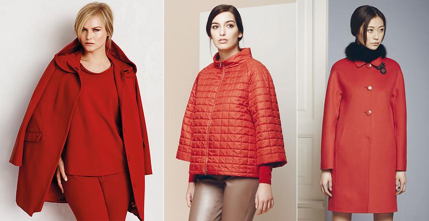 Куртки і пальта червоного кольору від брендів Marina Rinaldi і Giorgio Grati ac5532c101363