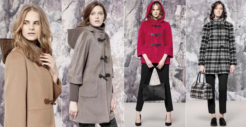 Модные женские пальто дафлкот из коллекции осень-зима 2014 2015 Cinzia Rocca ca7aad1250dce