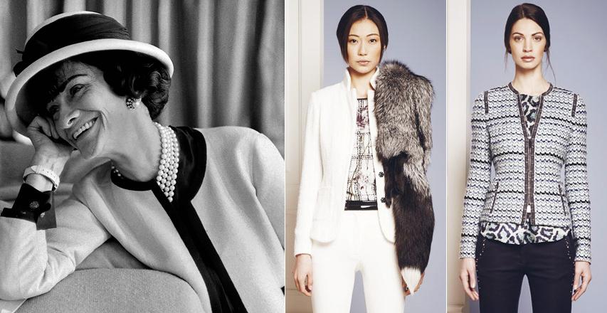Женская одежда больших размеров в стиле Коко Шанель 22b8018ba15