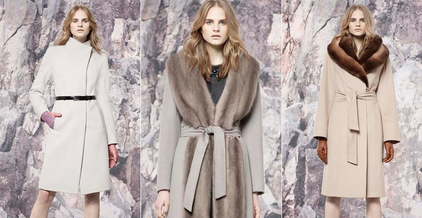 Жіночі пальто великих розмірів з запахом від Cinzia Rocca b2d7cf4971b2d