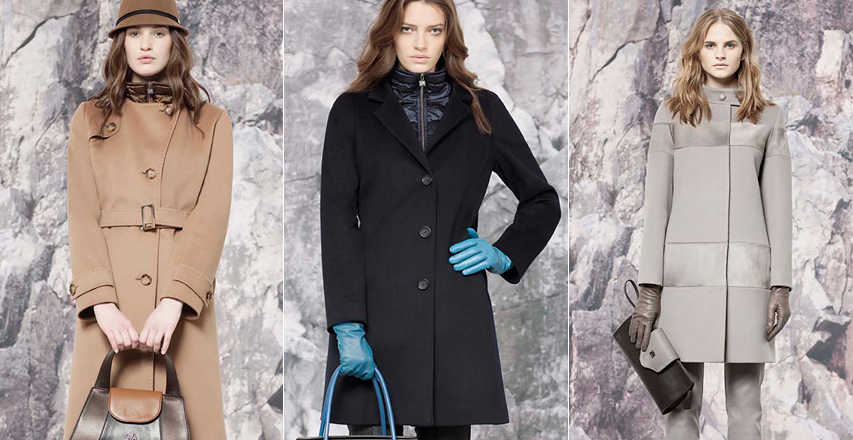 Приталені моделі пальто великих розмірів від Cinzia Rocca a6f3948ac6085